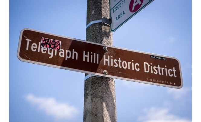 TelegraphHill_Historic_District_Sign
